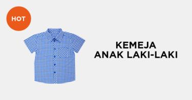 Kemeja Anak Laki-Laki Kabupaten Bogor