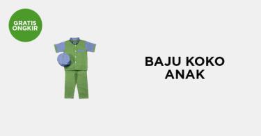 Baju Koko Anak Palembang