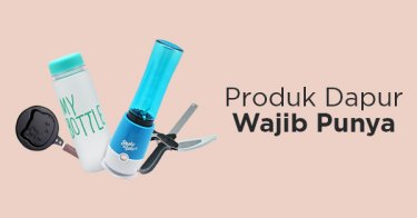 Produk Dapur Wajib Punya
