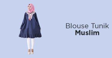 Blouse Tunik Muslim Bandung