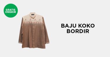Baju Koko Bordir