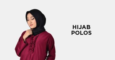 Hijab Polos Fashion Muslim