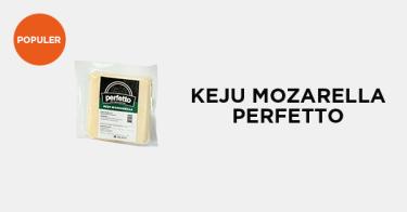 Keju Mozzarella Perfetto