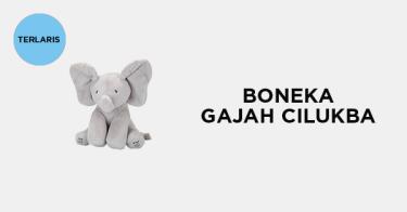 Boneka Gajah Cilukba