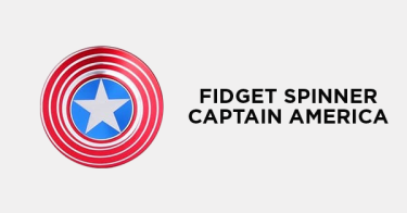 Fidget Spinner Captain America Depok