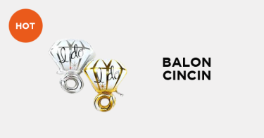 Balon Foil Cincin DKI Jakarta