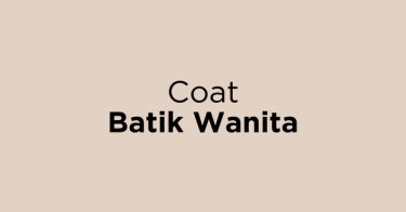 Coat Batik Wanita