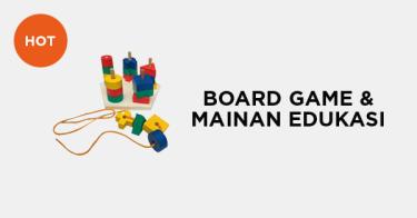 Board Game dan Mainan Edukasi