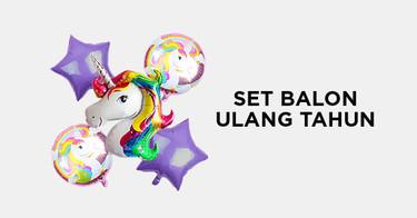 Set Balon Ulang Tahun