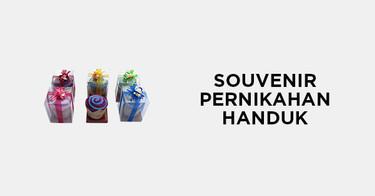 Souvenir Pernikahan Handuk Kabupaten Bekasi