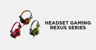 Headset Gaming Rexus Series