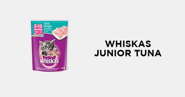 Whiskas Junior Tuna