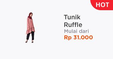 Tunik Ruffle