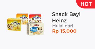 Snack Bayi Heinz