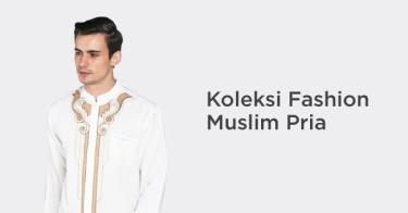 Koleksi Fashion Muslim Pria