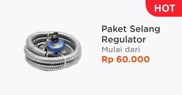 Paket Selang Regulator Kabupaten Tangerang