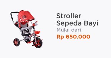 Stroller Sepeda Bayi