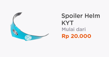 Spoiler Helm KYT Jakarta Barat