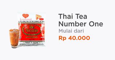 Thai Tea Number One Terlaris