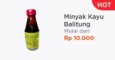 Minyak Kayu Balitung