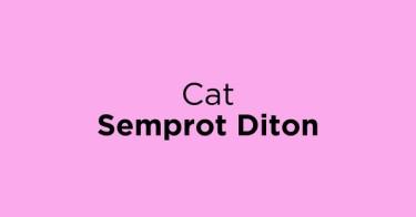 Cat Semprot Diton Bekasi