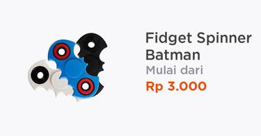 Fidget Spinner Batman Bekasi