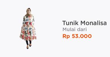 Tunik Monalisa Kabupaten Cirebon