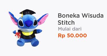 Boneka Wisuda Stitch