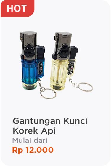 Gantungan Kunci Korek Api Jakarta Barat