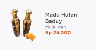 Madu Hutan Baduy