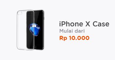 sale retailer 8c443 48906 Jual Iphone X Case - Beli Harga Terbaik   Tokopedia