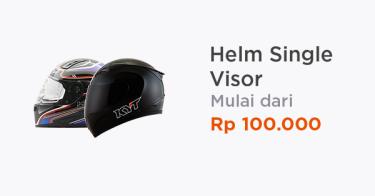 Helm Single Visor