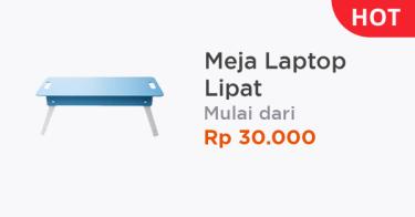 Meja Laptop Lipat