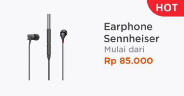 Earphone Sennheiser