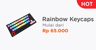 Rainbow Keycaps