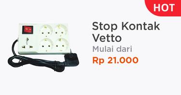 Stop Kontak Vetto