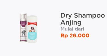 Dry Shampoo Anjing