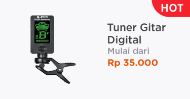 Tuner Gitar Digital