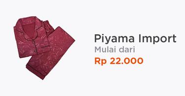 Piyama Wanita Import