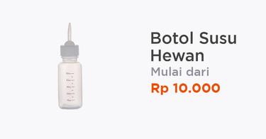 Botol Susu Hewan