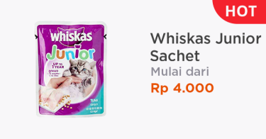 Whiskas Junior Sachet