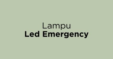 Lampu Led Emergency Cirebon