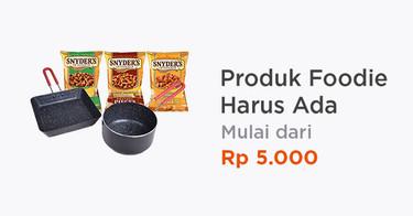 Produk Foodie Harus Ada