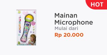 Mainan Microphone