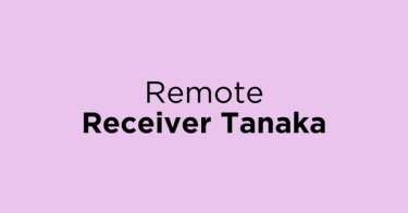Remote Receiver Tanaka Jakarta Barat