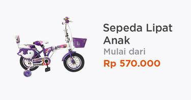 Sepeda Lipat Anak Bekasi