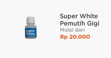 Super White Pemutih Gigi Jakarta Barat