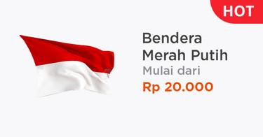 Jual Bendera Merah Putih Agustusan Harga Bendera Indonesia
