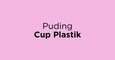Puding Cup Plastik