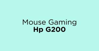 Mouse Gaming Hp G200 Jakarta Barat
